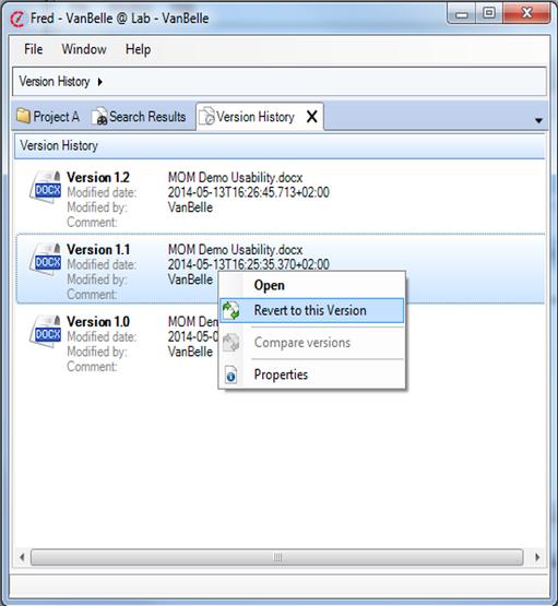 Handling Documents :: Alfred Desktop